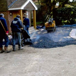 tarmac pile shaped